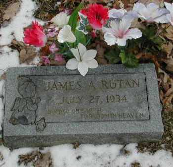 RUTAN, JAMES A. - Gallia County, Ohio | JAMES A. RUTAN - Ohio Gravestone Photos