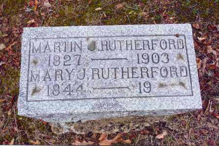 RUTHERFORD, MARY J. - Gallia County, Ohio | MARY J. RUTHERFORD - Ohio Gravestone Photos