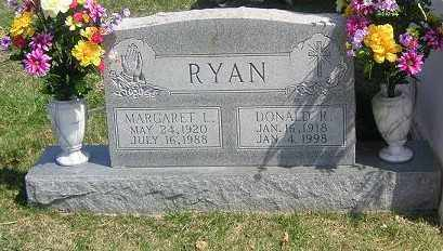RYAN, DONALD R. - Gallia County, Ohio | DONALD R. RYAN - Ohio Gravestone Photos