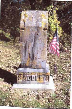 SADDLER, LEWIS - Gallia County, Ohio | LEWIS SADDLER - Ohio Gravestone Photos