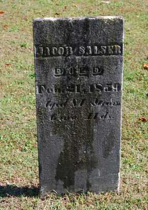 SALSER, JACOB - Gallia County, Ohio | JACOB SALSER - Ohio Gravestone Photos
