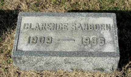 SANBORN, CLARENCE - Gallia County, Ohio | CLARENCE SANBORN - Ohio Gravestone Photos