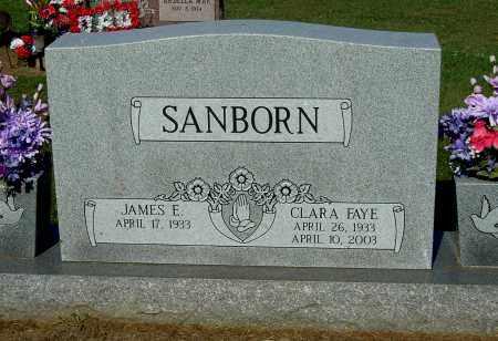 SANBORN, CLARA FAYE - Gallia County, Ohio | CLARA FAYE SANBORN - Ohio Gravestone Photos