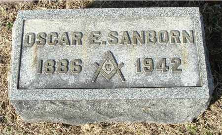 SANBORN, OSCAR E - Gallia County, Ohio | OSCAR E SANBORN - Ohio Gravestone Photos