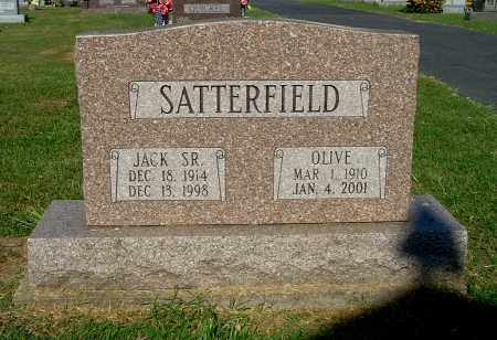 SATTERFIELD, JACK SR. - Gallia County, Ohio | JACK SR. SATTERFIELD - Ohio Gravestone Photos