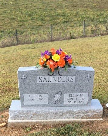 SAUNDERS, E. LEON - Gallia County, Ohio | E. LEON SAUNDERS - Ohio Gravestone Photos
