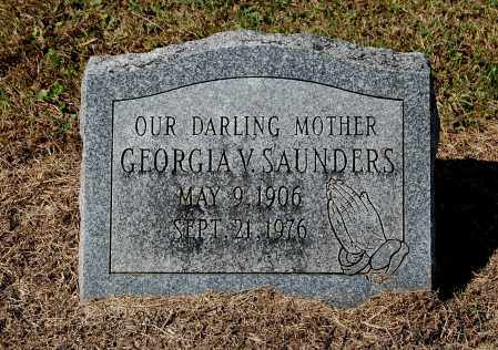 SAUNDERS, GEORGIA V - Gallia County, Ohio | GEORGIA V SAUNDERS - Ohio Gravestone Photos