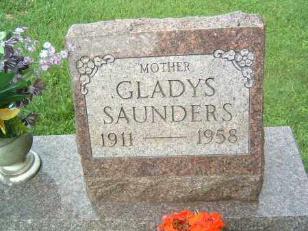 SAUNDERS, GLADYS - Gallia County, Ohio | GLADYS SAUNDERS - Ohio Gravestone Photos