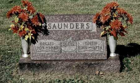 SAUNDERS, HOLLIS - Gallia County, Ohio | HOLLIS SAUNDERS - Ohio Gravestone Photos