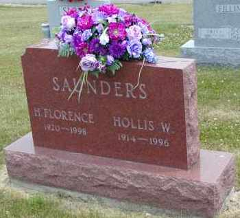 CALDWELL SAUNDERS, H. FLORENCE - Gallia County, Ohio | H. FLORENCE CALDWELL SAUNDERS - Ohio Gravestone Photos