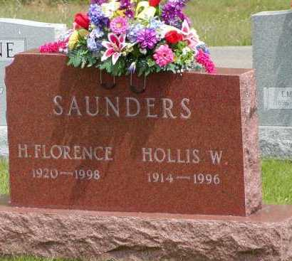 SAUNDERS, HOLLIS W. - Gallia County, Ohio | HOLLIS W. SAUNDERS - Ohio Gravestone Photos
