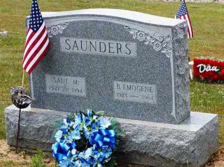 ARBAUGH SAUNDERS, EMOGENE - Gallia County, Ohio | EMOGENE ARBAUGH SAUNDERS - Ohio Gravestone Photos