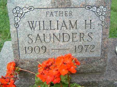 SAUNDERS, WILLIAM H. - Gallia County, Ohio | WILLIAM H. SAUNDERS - Ohio Gravestone Photos