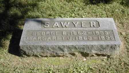 SAWYER, MARGARET - Gallia County, Ohio | MARGARET SAWYER - Ohio Gravestone Photos
