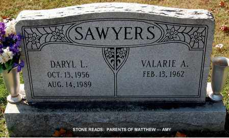 SAWYERS, DARYL L. - Gallia County, Ohio | DARYL L. SAWYERS - Ohio Gravestone Photos