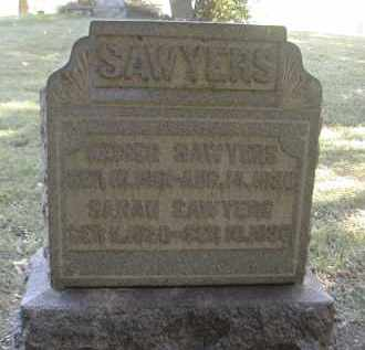 SAWYERS, KAISER - Gallia County, Ohio | KAISER SAWYERS - Ohio Gravestone Photos