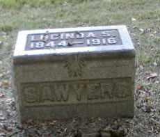 SAWYERS, LUCINDA - Gallia County, Ohio | LUCINDA SAWYERS - Ohio Gravestone Photos