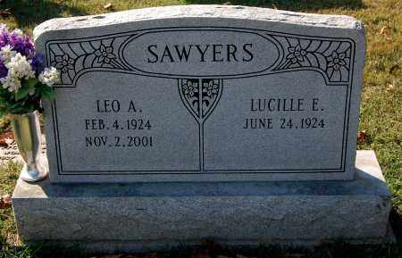 SAWYERS, LUCILLE E. - Gallia County, Ohio | LUCILLE E. SAWYERS - Ohio Gravestone Photos