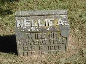 SAWYERS, NELLIE - Gallia County, Ohio | NELLIE SAWYERS - Ohio Gravestone Photos