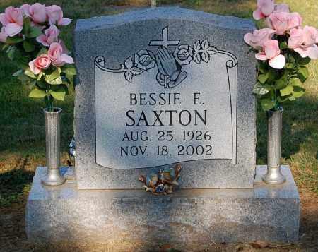 SAXTON, BESSIE E - Gallia County, Ohio | BESSIE E SAXTON - Ohio Gravestone Photos