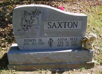 SAXTON, EDWIN - Gallia County, Ohio | EDWIN SAXTON - Ohio Gravestone Photos