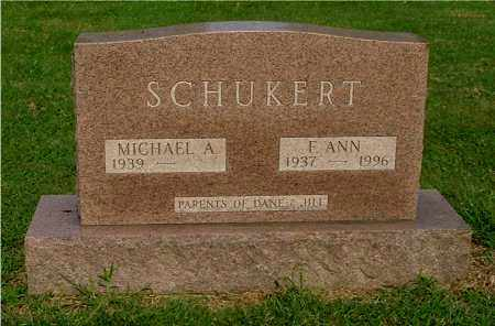 SCHUKERT, MICHAEL A - Gallia County, Ohio | MICHAEL A SCHUKERT - Ohio Gravestone Photos