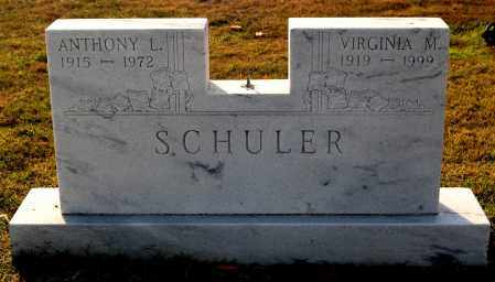SCHULER, VIRGINIA M - Gallia County, Ohio | VIRGINIA M SCHULER - Ohio Gravestone Photos