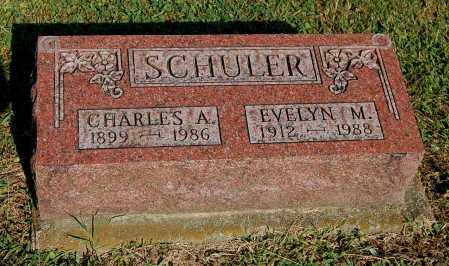 SCHULER, CHARLES A - Gallia County, Ohio | CHARLES A SCHULER - Ohio Gravestone Photos