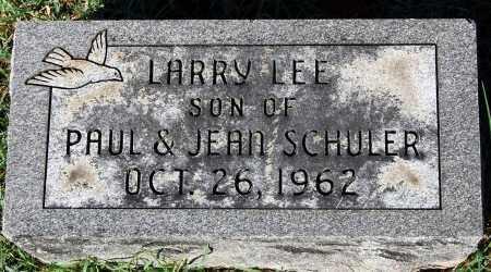 SCHULER, LARRY LEE - Gallia County, Ohio | LARRY LEE SCHULER - Ohio Gravestone Photos