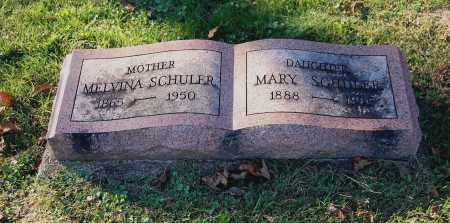 SCHULER, MELVINA - Gallia County, Ohio | MELVINA SCHULER - Ohio Gravestone Photos