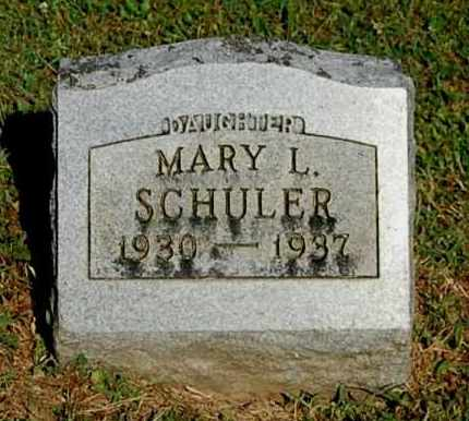 SCHULER, MARY LOUISE - Gallia County, Ohio | MARY LOUISE SCHULER - Ohio Gravestone Photos