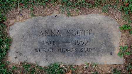 SCOTT, ANNA - Gallia County, Ohio | ANNA SCOTT - Ohio Gravestone Photos