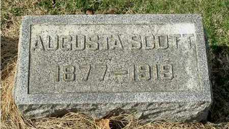 SCOTT, AUGUSTA - Gallia County, Ohio | AUGUSTA SCOTT - Ohio Gravestone Photos