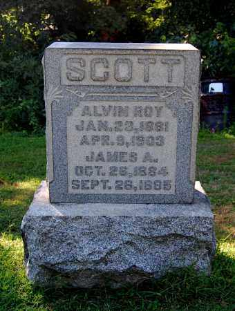 SCOTT, JAMES A - Gallia County, Ohio | JAMES A SCOTT - Ohio Gravestone Photos