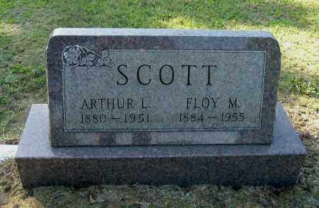 SCOTT, FLOY M - Gallia County, Ohio | FLOY M SCOTT - Ohio Gravestone Photos