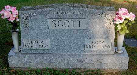 SCOTT, CORA - Gallia County, Ohio | CORA SCOTT - Ohio Gravestone Photos