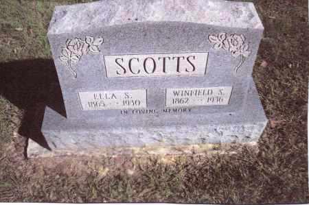 SCOTTS, WINFIELD S, - Gallia County, Ohio | WINFIELD S, SCOTTS - Ohio Gravestone Photos