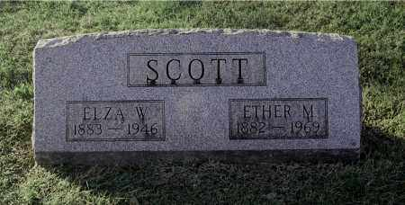 SCOTT, ELZA W - Gallia County, Ohio | ELZA W SCOTT - Ohio Gravestone Photos
