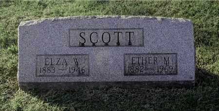 SCOTT, ELZA W - Gallia County, Ohio | ELZA W SCOTT - Ohio Gravestone Photos