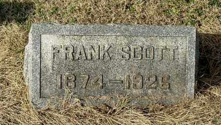 SCOTT, FRANK - Gallia County, Ohio | FRANK SCOTT - Ohio Gravestone Photos