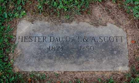 SCOTT, HESTER - Gallia County, Ohio | HESTER SCOTT - Ohio Gravestone Photos