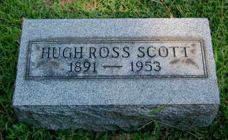 SCOTT, HUGH ROSS - Gallia County, Ohio | HUGH ROSS SCOTT - Ohio Gravestone Photos