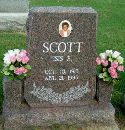 SCOTT, ISIS F - Gallia County, Ohio | ISIS F SCOTT - Ohio Gravestone Photos