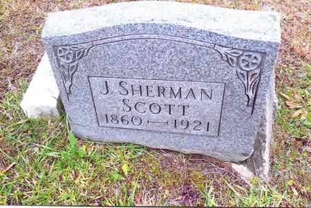 SCOTT, JOHN SHERMAN - Gallia County, Ohio | JOHN SHERMAN SCOTT - Ohio Gravestone Photos