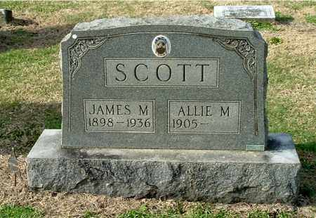 SCOTT, ALLIE M - Gallia County, Ohio | ALLIE M SCOTT - Ohio Gravestone Photos