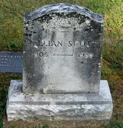 SCOTT, LILLIAN - Gallia County, Ohio | LILLIAN SCOTT - Ohio Gravestone Photos