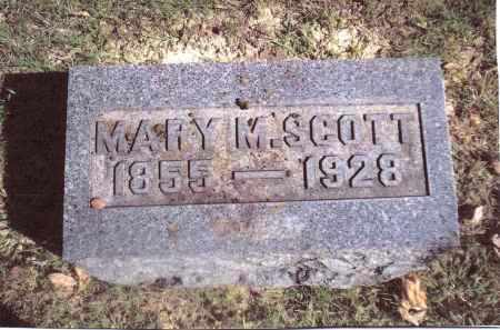 SCOTT, MARY M. - Gallia County, Ohio | MARY M. SCOTT - Ohio Gravestone Photos