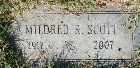 SCOTT, MILDRED R - Gallia County, Ohio | MILDRED R SCOTT - Ohio Gravestone Photos