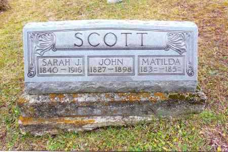 SCOTT, MATILDA - Gallia County, Ohio | MATILDA SCOTT - Ohio Gravestone Photos