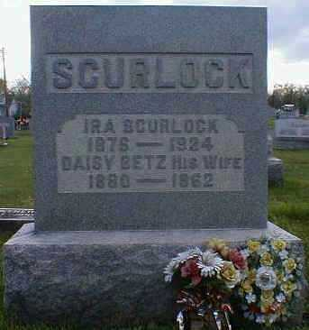 SCURLOCK, DAISY - Gallia County, Ohio | DAISY SCURLOCK - Ohio Gravestone Photos